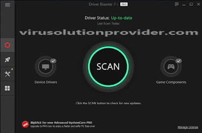 Driver Booster Pro 7.1 Promo License Key on Virus Solution Proivider