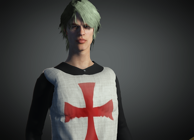 FREE ICLONE CHARACTER PACK - KNIGHT TEMPLAR