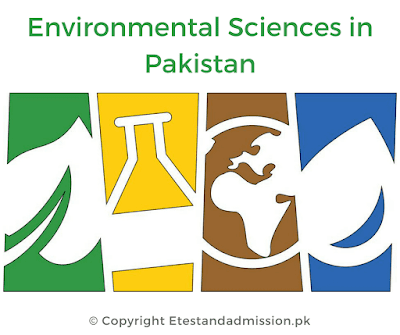 environmental sciences in Pakistan, jobs for environmental sciences