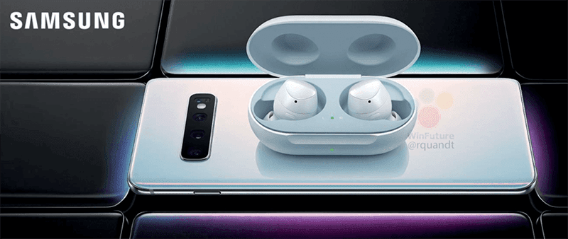 Alleged Samsung true wireless earbuds leaks, hints at Galaxy S10 reverse wireless charging!