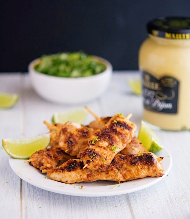 Not Your Gradma's Spicy Lime Chicken
