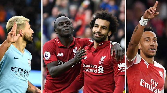 EPL highest goalscorers: Aubameyang, Salah, Mane win Golden Boot award [Top 25]