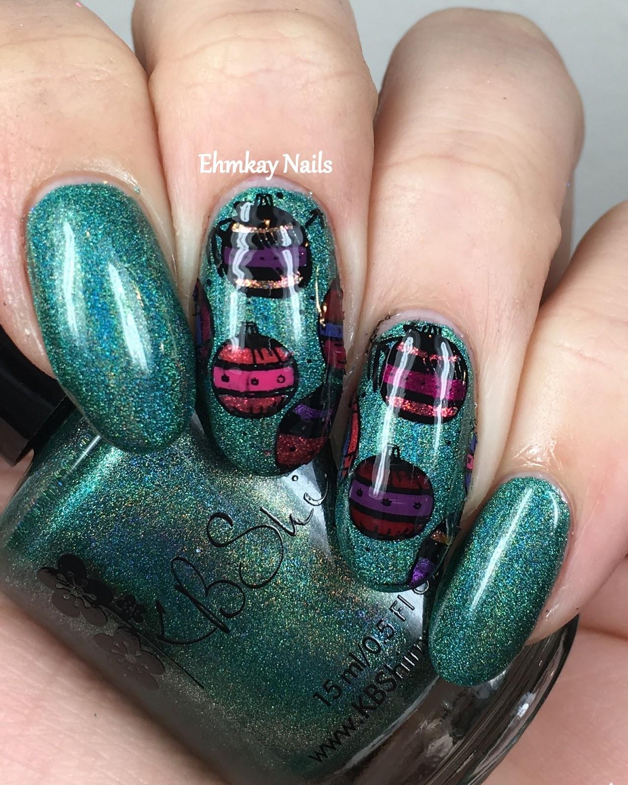 Winter Nail Trends: Ehmkay Nails: Winter Nail Art Challenge: Decorations
