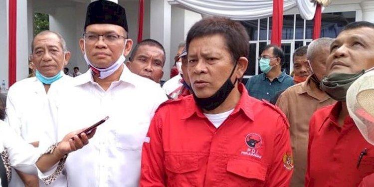 Keberatan Hasil Pilkada Karo, Pasangan Iwan Depari-Budianto Surbakti Tolak Teken Hasil Rekapitulasi