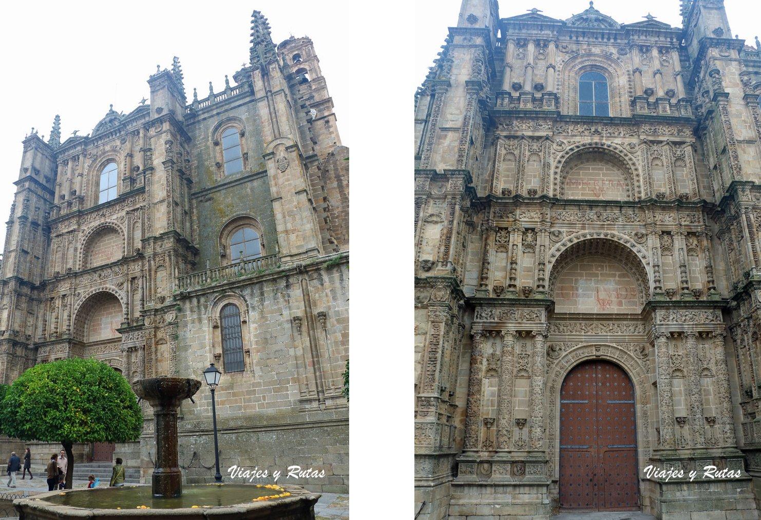 Fachada de la Catedral nueva de Plasencia