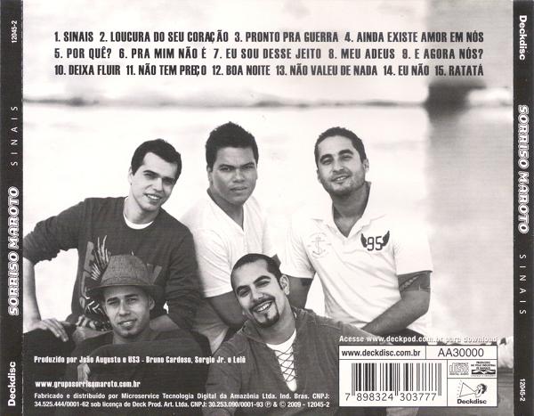 MAROTO SORRISO BAIXAR O SINAIS DO CD