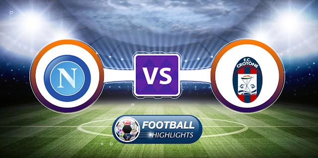 Napoli vs Crotone – Highlights