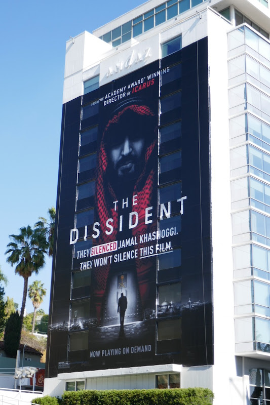 Giant Dissident documentary billboard