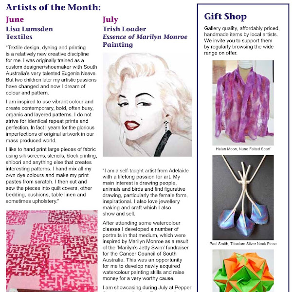 Artist of the Month July - Essence of Marilyn Monroe