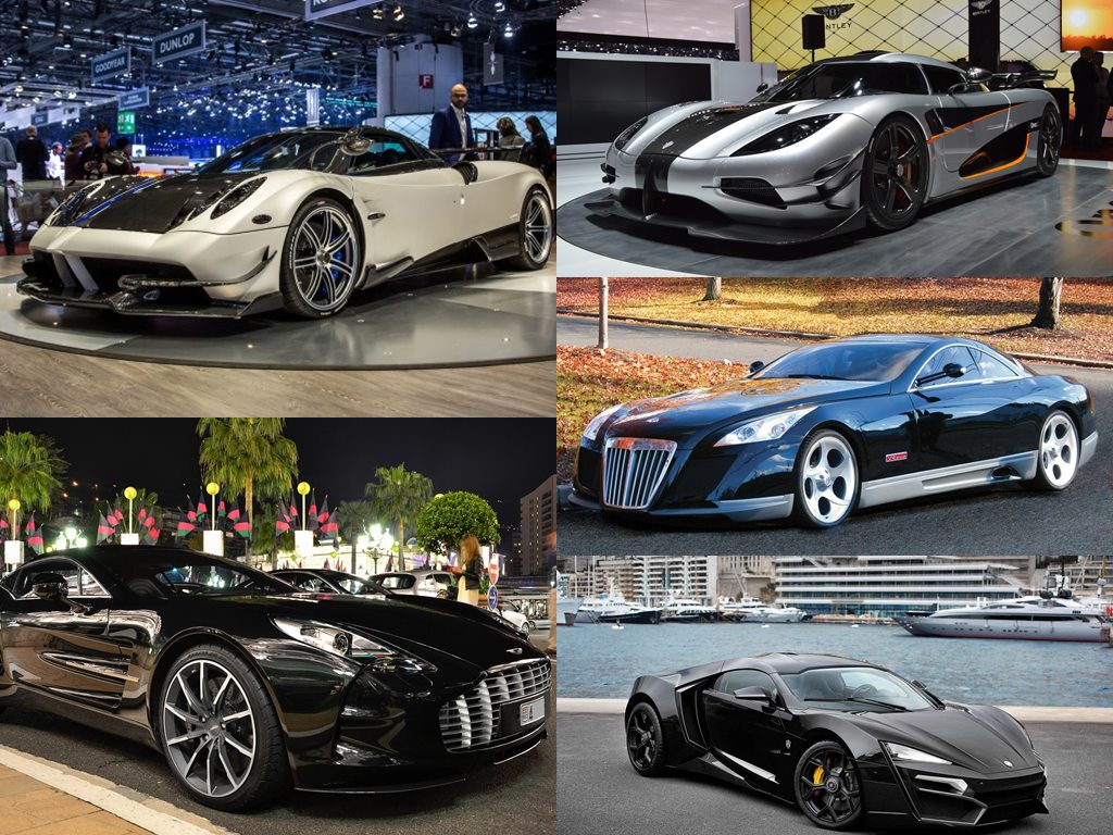 Most Expensive Hypercars In The World Thehive Asia