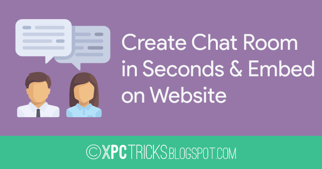 Create a Chat Room in Seconds and Embed on Website