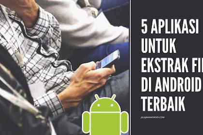 5 Aplikasi Untuk Ekstrak File di Android Terbaik