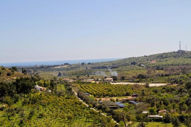 Landscape of Noto, Sicily