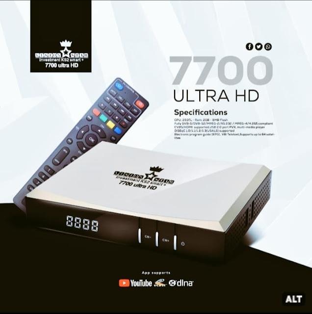 سعر ومواصفات رسيفر فيجين ستار Vision Star 7700 Ultra Hd