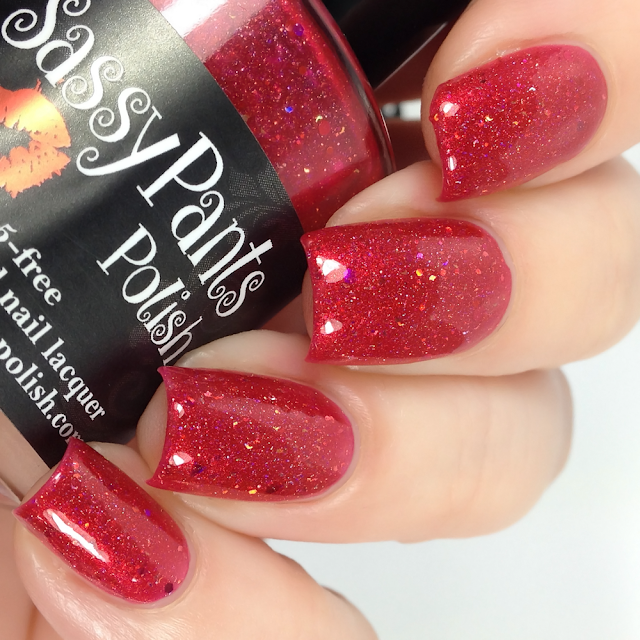 Sassy Pants Polish-Vodka Strawberry Lemonade