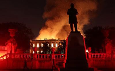 incendio no museu nacional rio de janeiro brasil