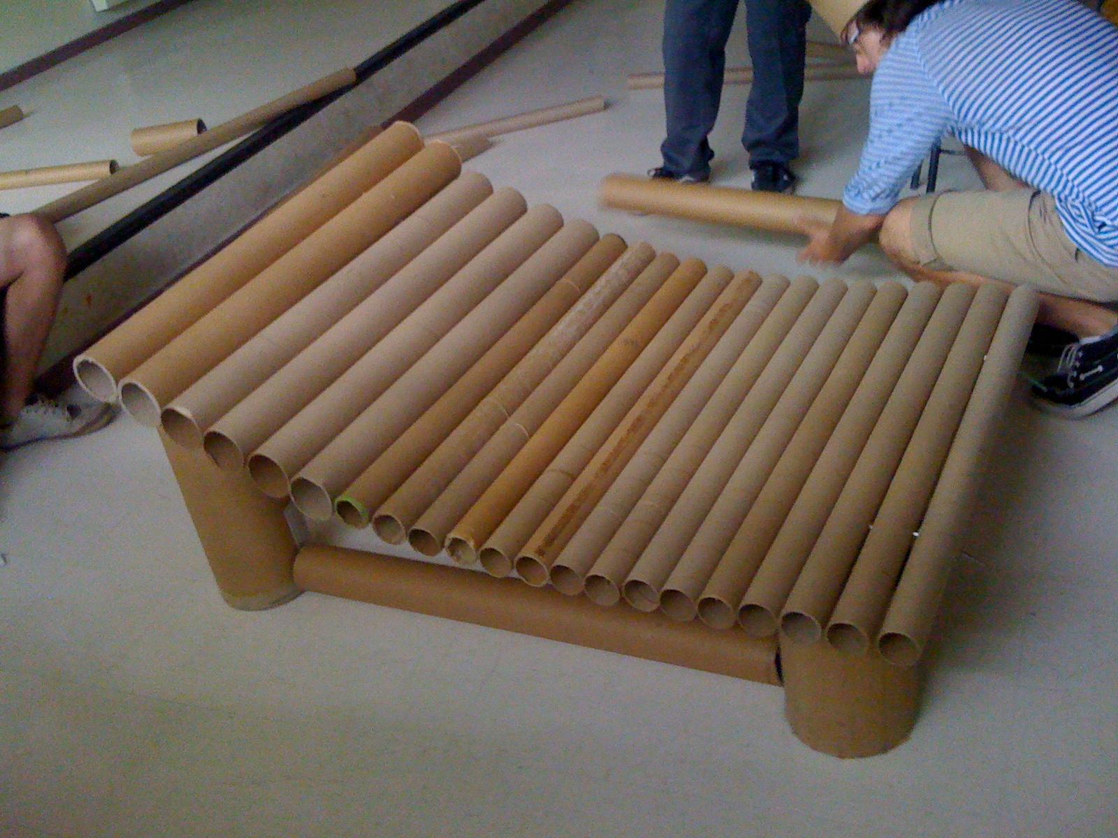 El Kromablog Diciembre 2012 # Muebles De Tubos De Carton