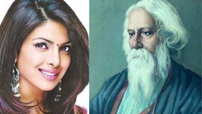 प्रियंका चोपड़ा, रबीन्द्रनाथ टैगोर की प्रेम कहानी बनाने जा रही हैं