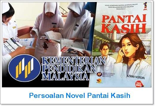 tema novel pantai kasih, persoalan novel pantai kasih, gambar novel pantai kasih, sinopsis novel pantai kasih bab 1 – 9