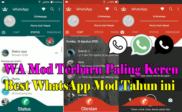 Dowhatsapp apk,whatsapp mod,Do whatsapp v1.60,whatsapp apk,do whatsapp versi terbaru,whatsapp mod 2020,whatsapp mod versi baru,whatsapp,official