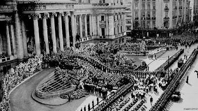 Funeral Eva Perón