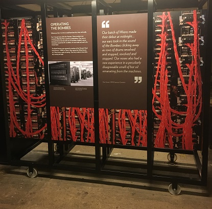 Bombes at Bletchley Park