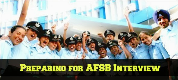 Preparing for AFSB Interview