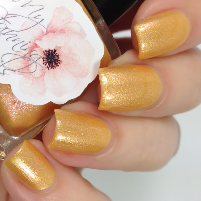 My Stunning Nails-Dahlia Petals