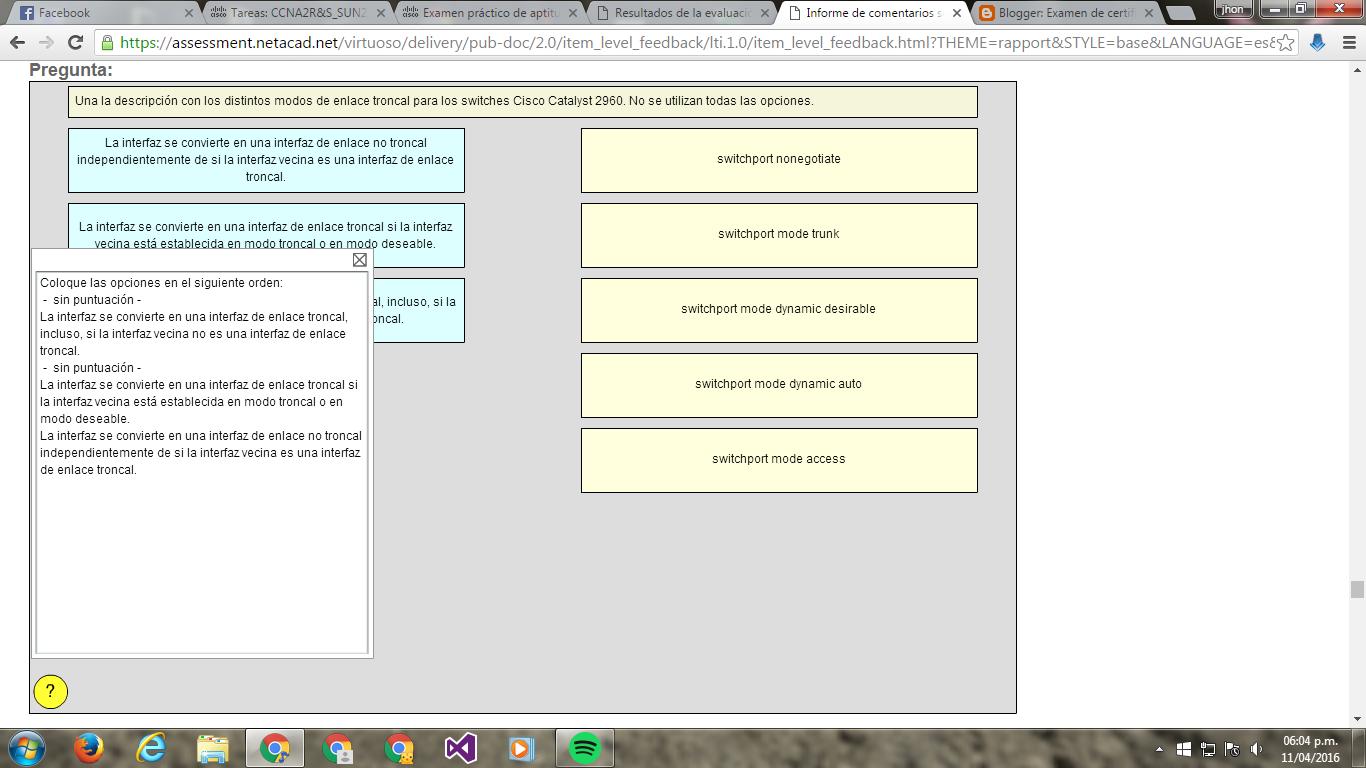 CCNA 2 Examen De Certificacion