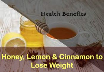 Honey, lemon and cinnamon recipes to lose weight