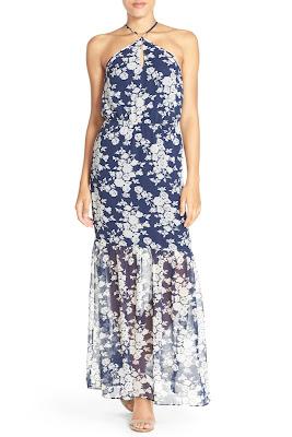 Ali & Jay Floral Halter Maxi Dress $33 (reg $138)