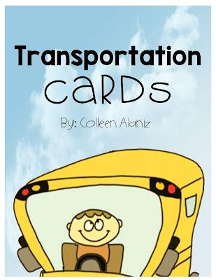https://www.teacherspayteachers.com/Product/Transportation-Cards-297951