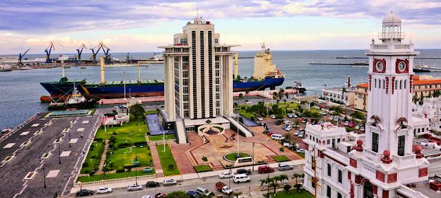 Visita Malecón ciudad Veracruz