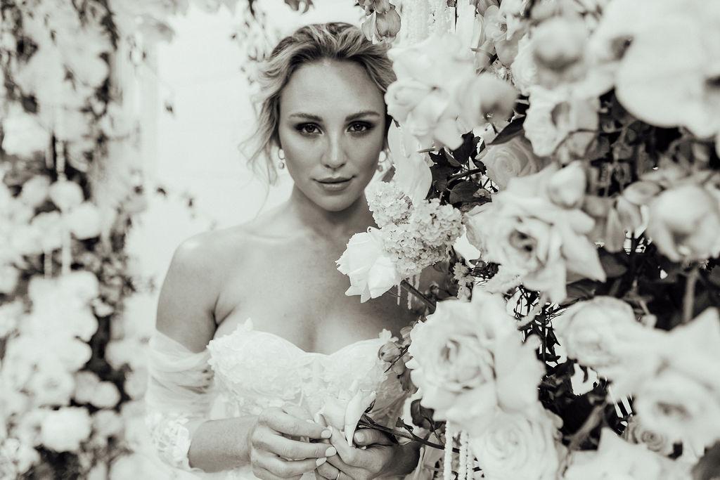 Kendell Tyne Photography the entrance bridal gown boutique floral design installation australian designer