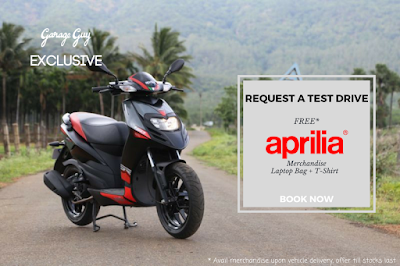 Book a Test Drive & Win Free Aprilia Merchandise!