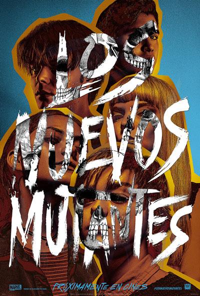Cartel de 'Los Nuevos Mutantes' de Marvel y Fox