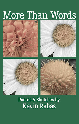 Green book cover with floral images