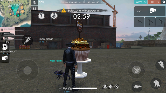 Lokasi Cake Token Blueberry Pecahkan Kue Raksasa 2nd Anniversary