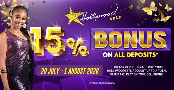 VDJ 2020 15% Deposit Bonus