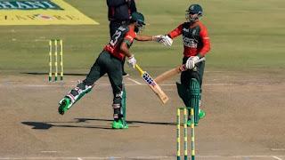 Zimbabwe vs Bangladesh 1st T20I 2021 Highlights