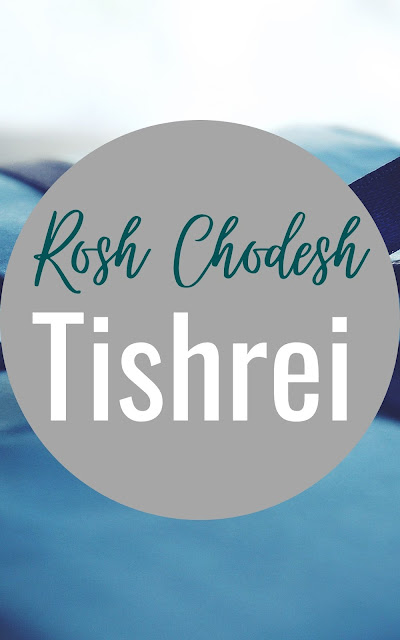 Happy Rosh Chodesh Tishrei Greeting Card | 10 Free Beautiful Cards | Happy New Month | Seventh Jewish Month