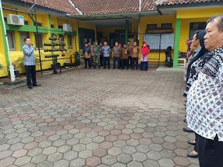 #ApelPagi Gabungan  Selasa 11Juni2019  Dipimpin oleh Camat #SZM di halaman kecamatan.