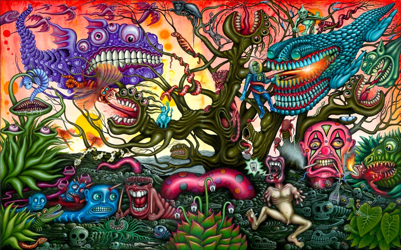Acid Trip Wallpapers - Wallpaper Cave |Crazy Trippy Drawings