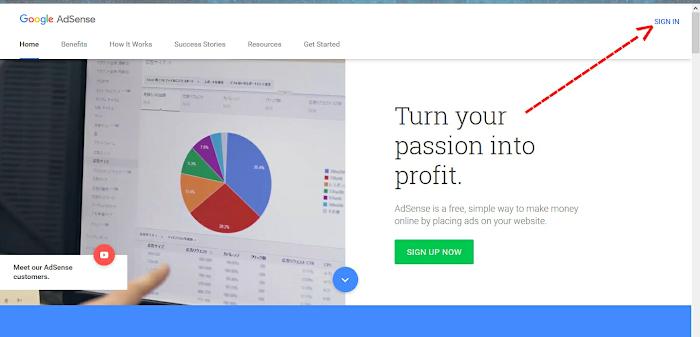 Create AdSense Matched Content Unit