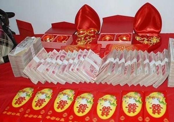 Mahalnya mahar pernikahan di China
