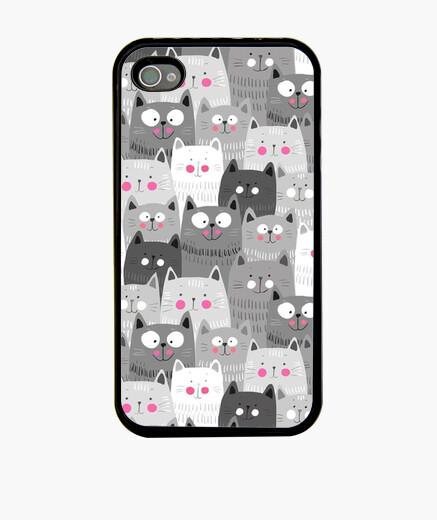 Carcasa, carcasas, gato, gatos, animales