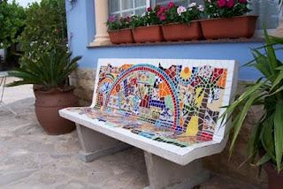 remodelación con mosaicos