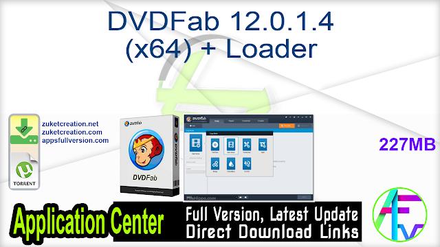 DVDFab 12.0.1.4 (x64) + Loader