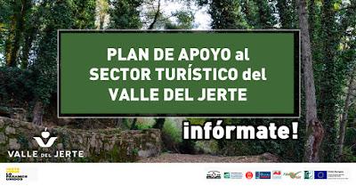 Plan de apoyo al sector turístico del Valle del Jerte