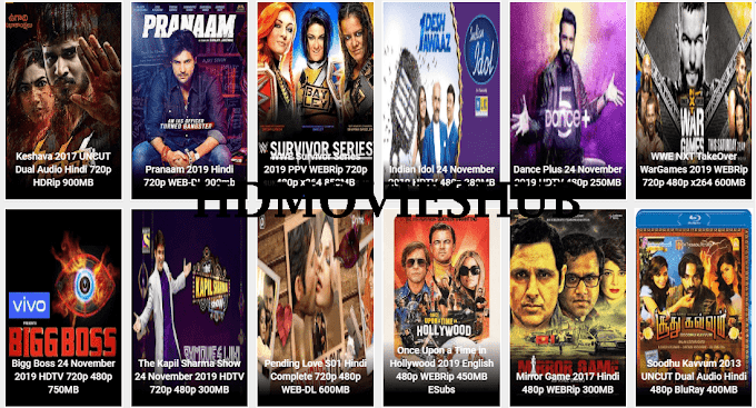 HDMoviesHub 2020- Bollywood Hollywood HD Movies Download